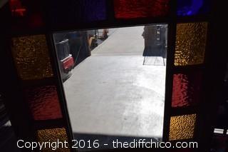 Stand Glass Window Frame