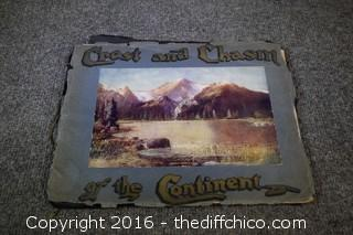 1905 Crest and Chasm of the Continent