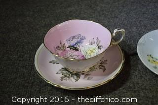 3 Cup & Saucer Sets