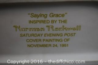 Norman Rockwell - Saying Grace - 1573/5000
