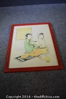 Framed Original Art