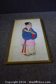 Framed Oriental Art