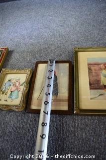5 Framed Pictures
