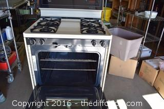 Working Whirlpool Gas Stove