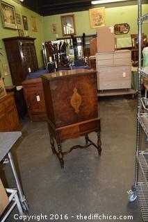 Vintage Walnut Cabinet- Appraisal $750