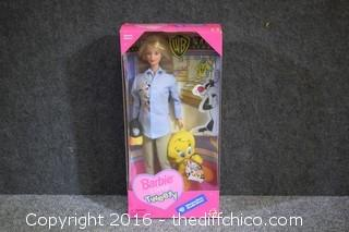 NIB Barbie Loves Tweety