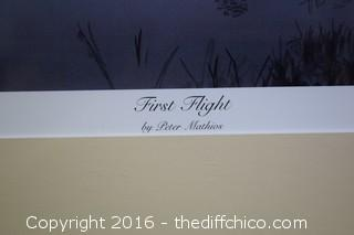"Signed & Numbered ""First Flight"" Print - 2561/2800"
