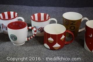 10 Starbucks Christmas Mugs