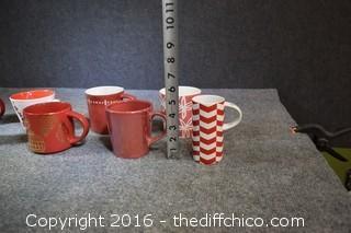 10 Starbucks Mugs