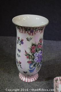 Decorative Vase & Dish
