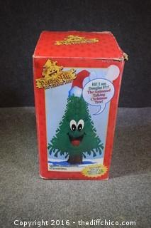 NIB Talking Christmas Tree