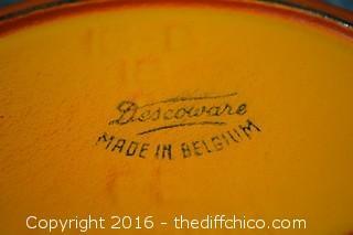 Descoware & Le Crueset Cook Ware w/Lids