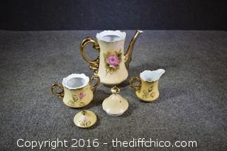 Vintage Lefton Tea Set - 5 Pieces