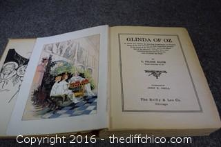 Glinda of OZ Book