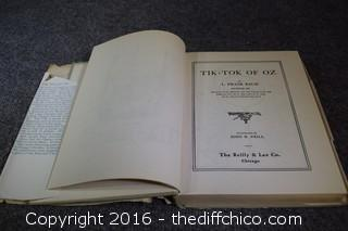 1914 Rare Tik-Tok of OZ Book