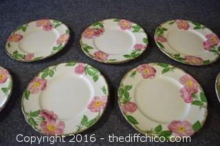 8 Franciscan Desert Rose - 8in Plates