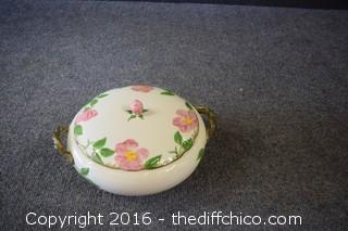 Franciscan Desert Rose - 8 1/2in Casserole Dish w/Lid