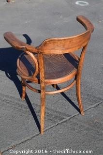 Set of 6 J & J Kohn Bentwood Captain / Cafe Chairs