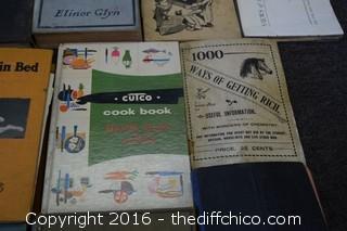 Lot of Vintage Books