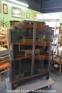 Oriental Style Cabinet