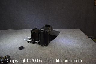 Vintage Speed Graphic Camera