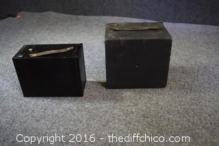 Two Vintage Box Cameras