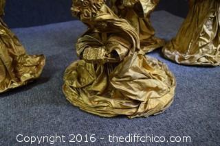 Paper Mache Nativity Scene