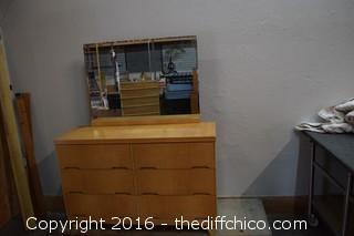 Vintage 1950's 6 Drawer Dresser