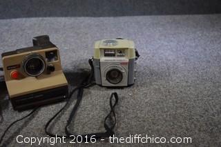 Lot of Vintage Camera's