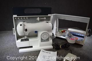 Working  Euro-Pro X 416 Sewing Machine
