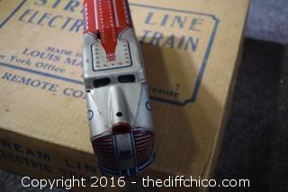 Louis Marx Stream Line Electrical Train in Box