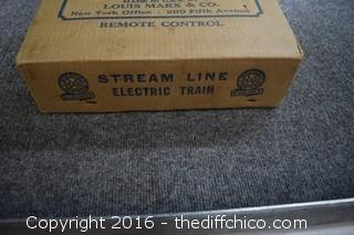 Louis Marx Stream Line Electrical Train in Box
