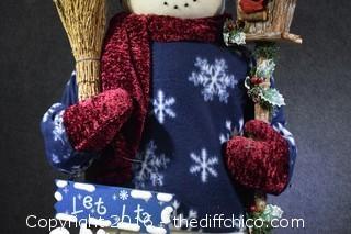 41in Tall Snowman