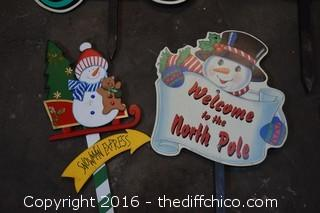5 Christmas Lawn Decorations