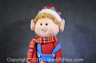 Christmas Elf Decoration
