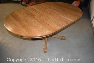 Oak Table w/1 Leaf