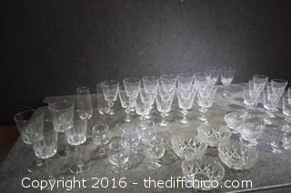 Lot of Crystal & More