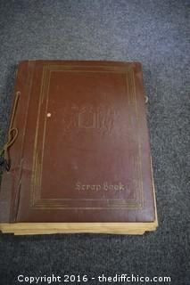 Vintage 1937-1949 Scrapbook