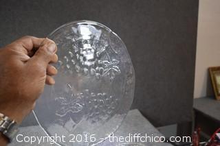 Glass Servers, Platters & More