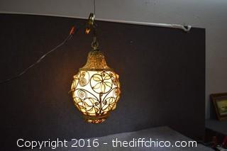 Awesome Working Vintage Hanging Lamp