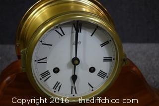 Untested Schatz Brass Clock