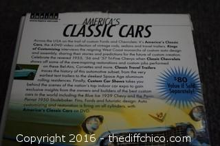 4 Classic Cars DVDs