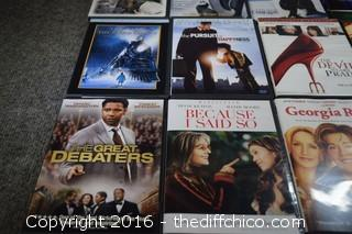 18 DVD Movies