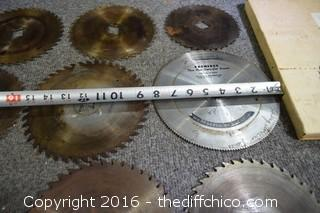 Lot of 22 Saw Blades