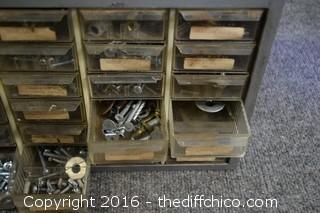 Storage Organizer & Contents