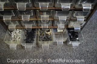 Storage Organizer & Contents
