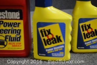 Power Steering Fluid & Fix A Leak