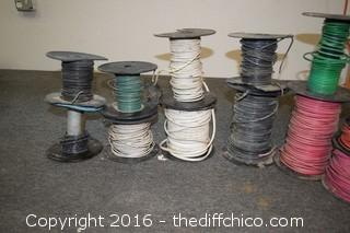 Mixed Lot of Wire - 8, 10 & 12 Gauge Wire