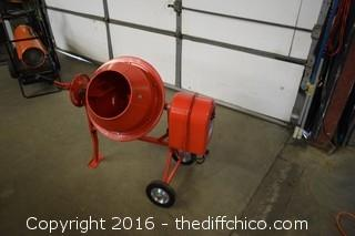 New Cement Mixer