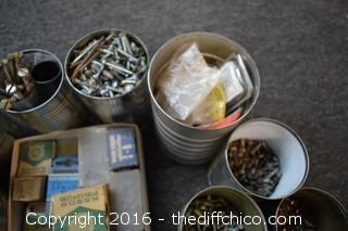 Mixed Lot of Screws & More